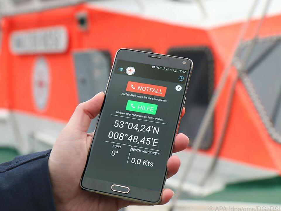 Schutzengel für Wassersportler - die Tracking-App Safetrax