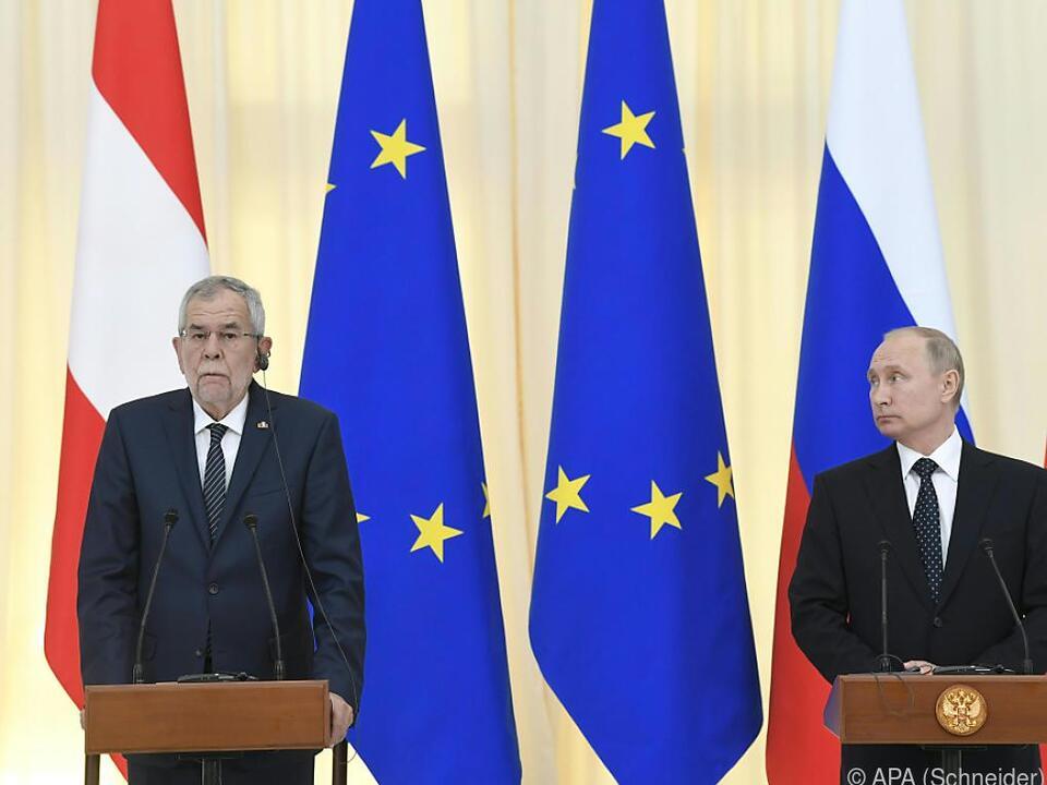 Präsident Van der Bellen hält an der Pipeline fest