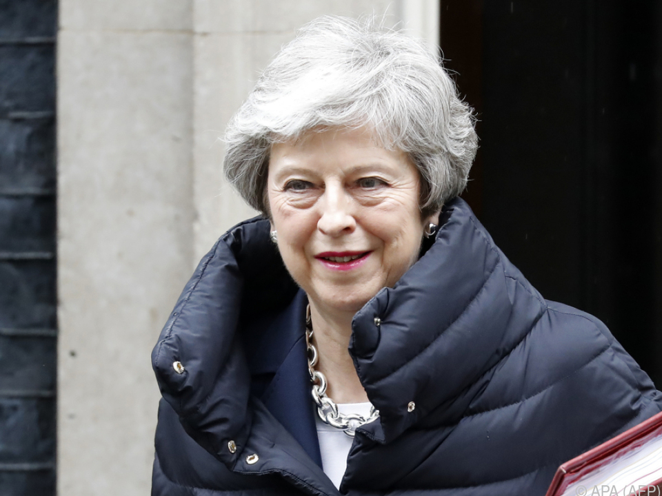 Premierministerin Theresa May ist angezählt