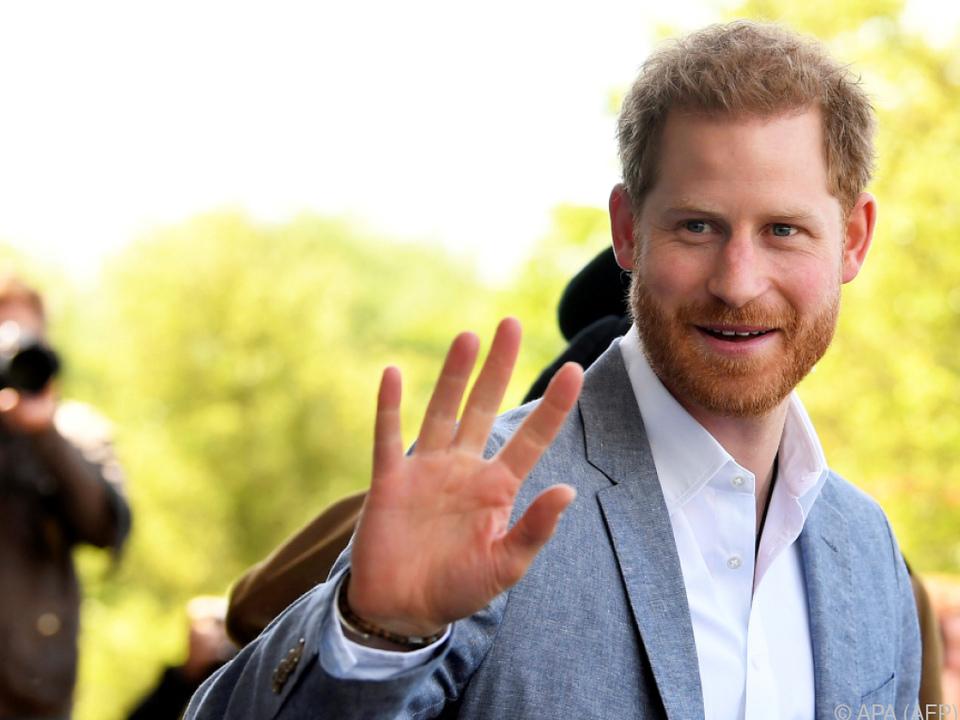 Prinz Harry besuchte ein Kinderkrankenhaus