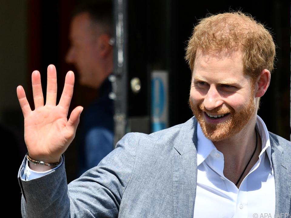 Prinz Harry war mit Klage erfolgreich