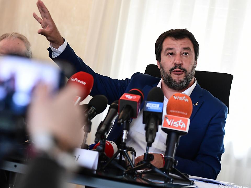 Salvini bezeichnete EU-Haushaltsregeln als \