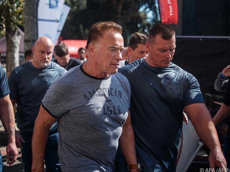 Schwarzenegger besuchte das Arnold Sports Africa Festival
