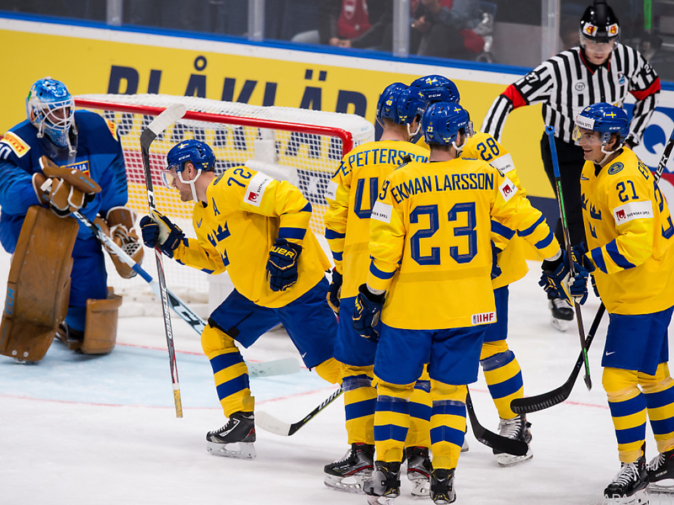 Schweden ließ Italien beim 8:0 keine Chance