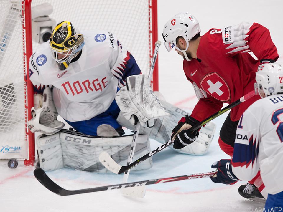 Schweiz schlug Norwegen 4:1