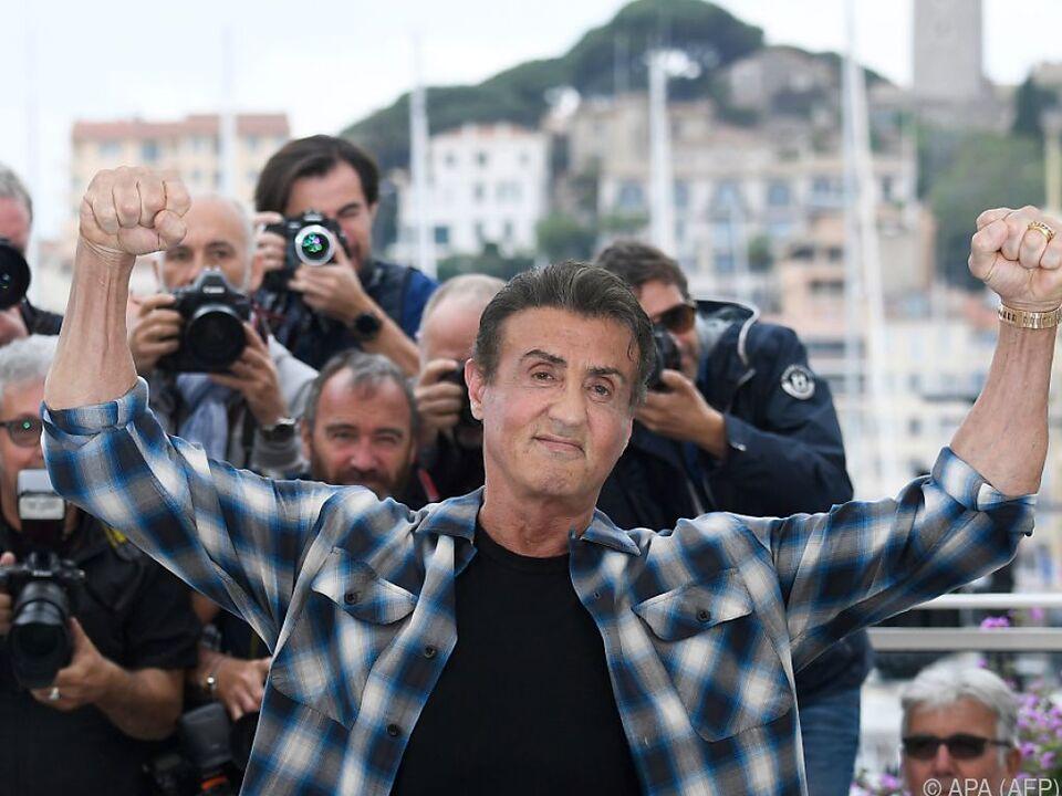 Sylvester Stallone zeigt Ausschnitte des neuen \