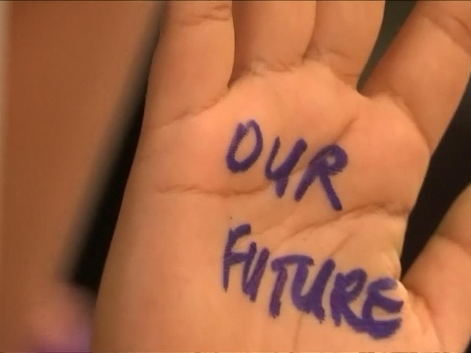 Tausende Jugendliche demonstrieren für Klimaschutz