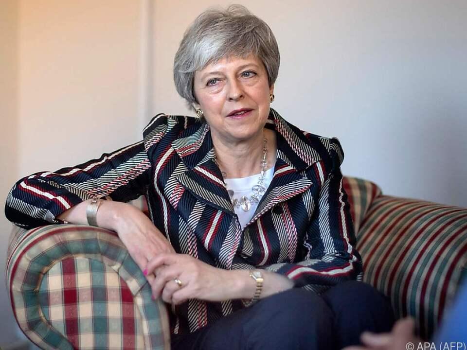 Theresa May will es noch einmal versuchen