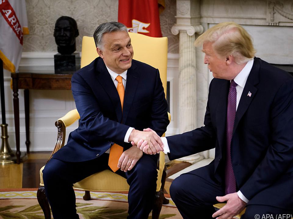 Trump traf Orban