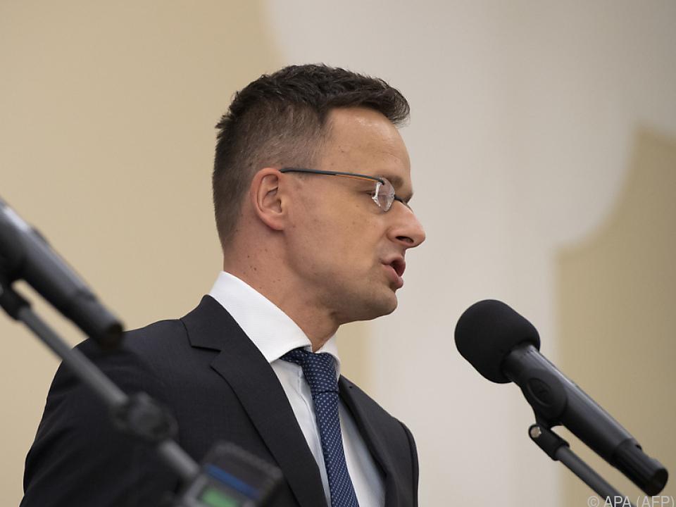 Ungarns Außenminister Peter Szijjarto