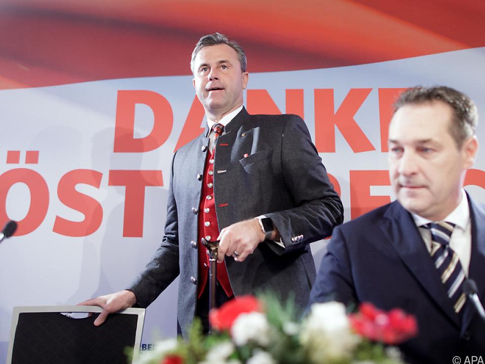 Wahlschlappe von 2016 lässt der FPÖ keine Ruhe