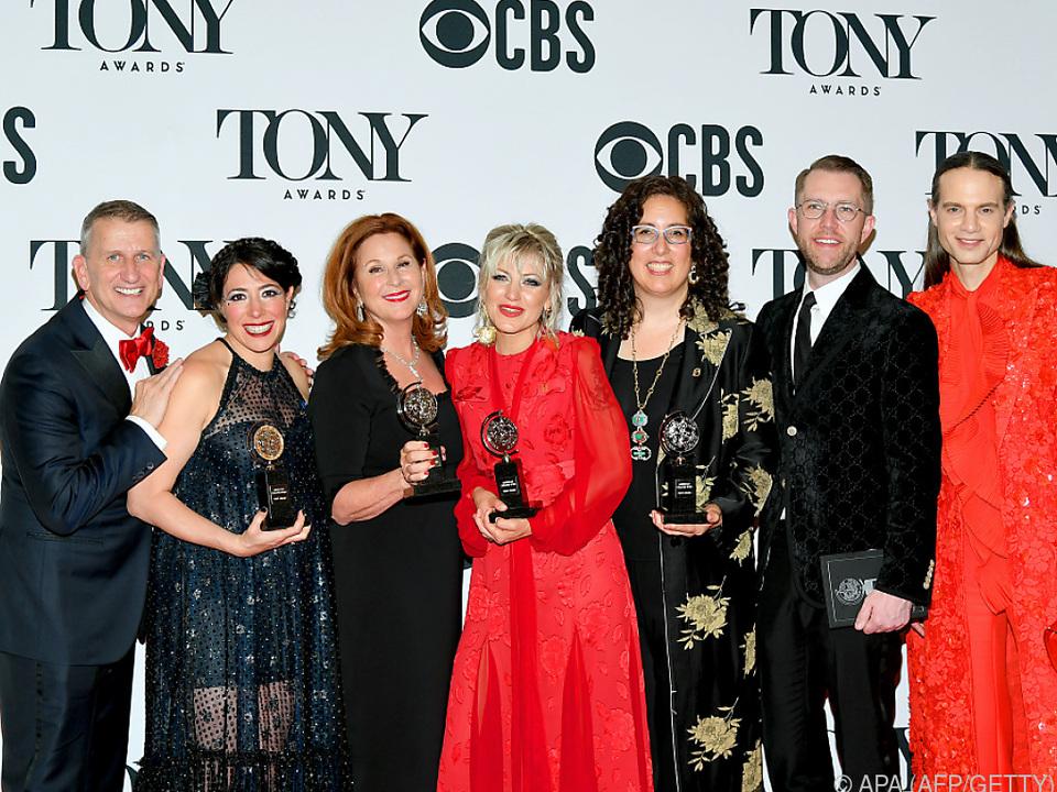 Acht Auszeichnungen beim wichtigsten Theaterpreis der Welt