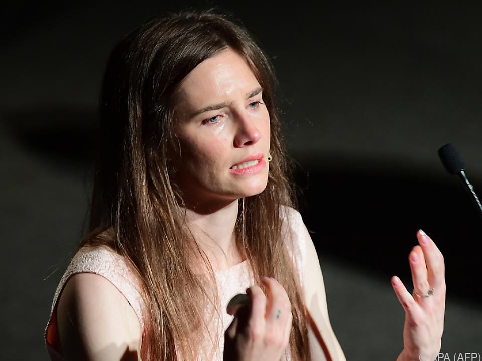 Jahrelanger Justizkrimi: US-Amerikanerin Amanda Knox ist wieder in Italien