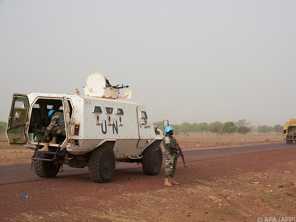 An der UNO-Friedensmission ist auch Österreichs Bundesheer beteiligt