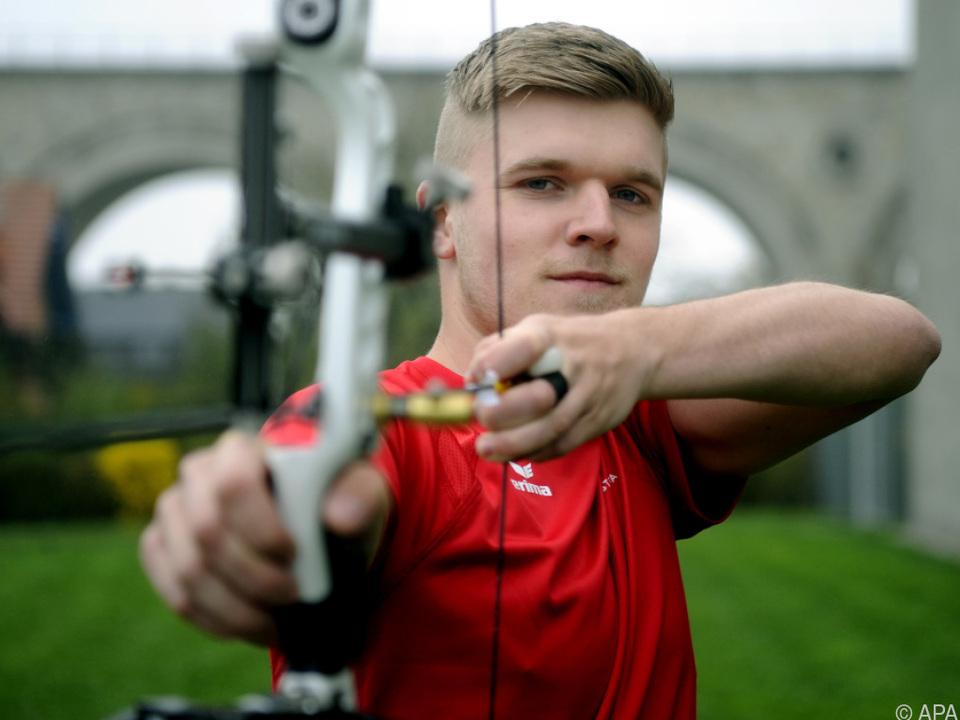 Andreas Gstöttner hat reale Chanen auf ein Olympia-Ticket