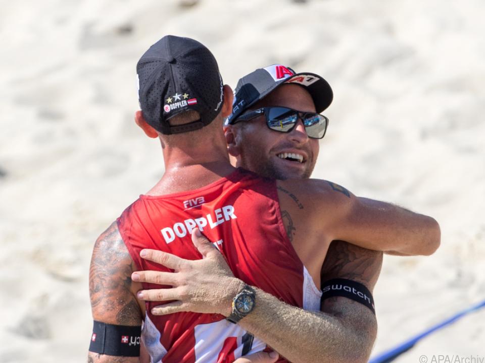 Das Duo Doppler/Horst steht im Finale