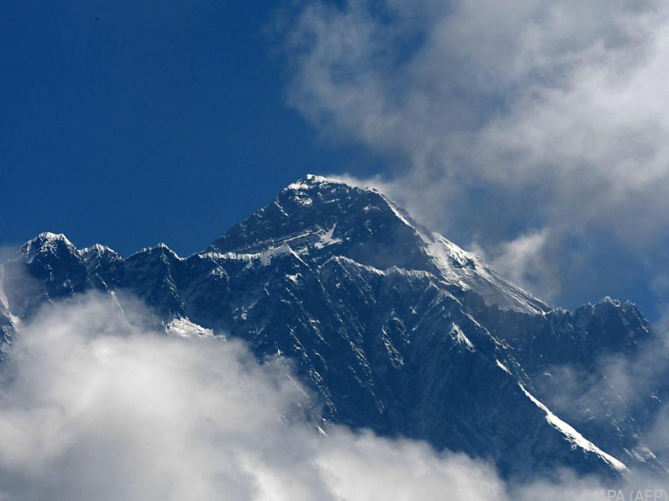 Der höchste Berg der Welt fordert immer wieder Todesopfer