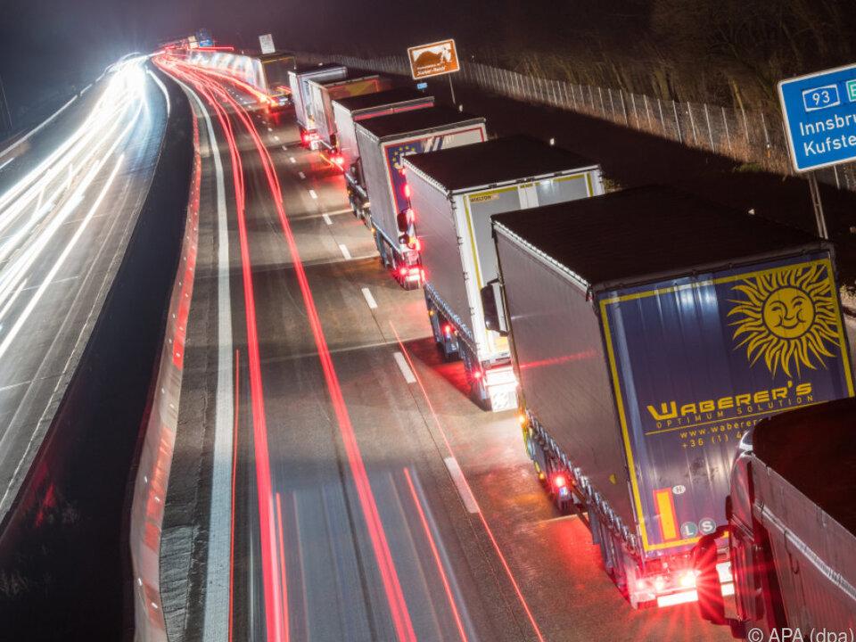 Der LKW-Verkehr über den Brenner wächst