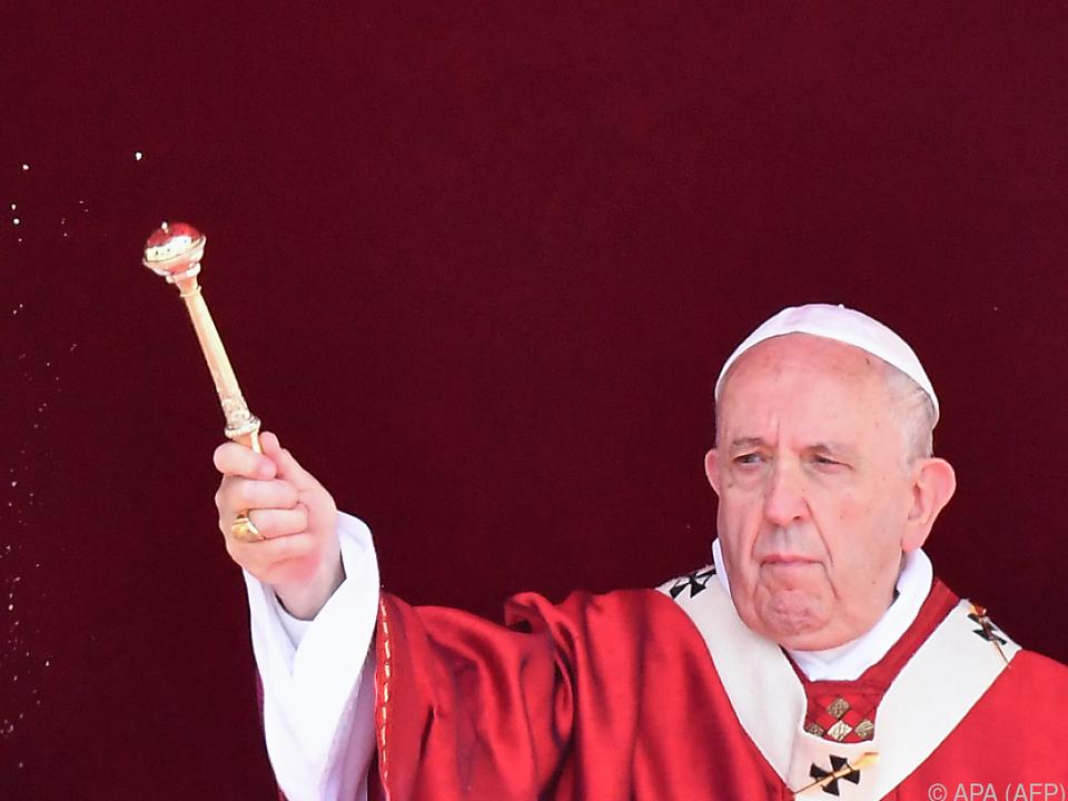 Der Papst warnte vor Abschottung