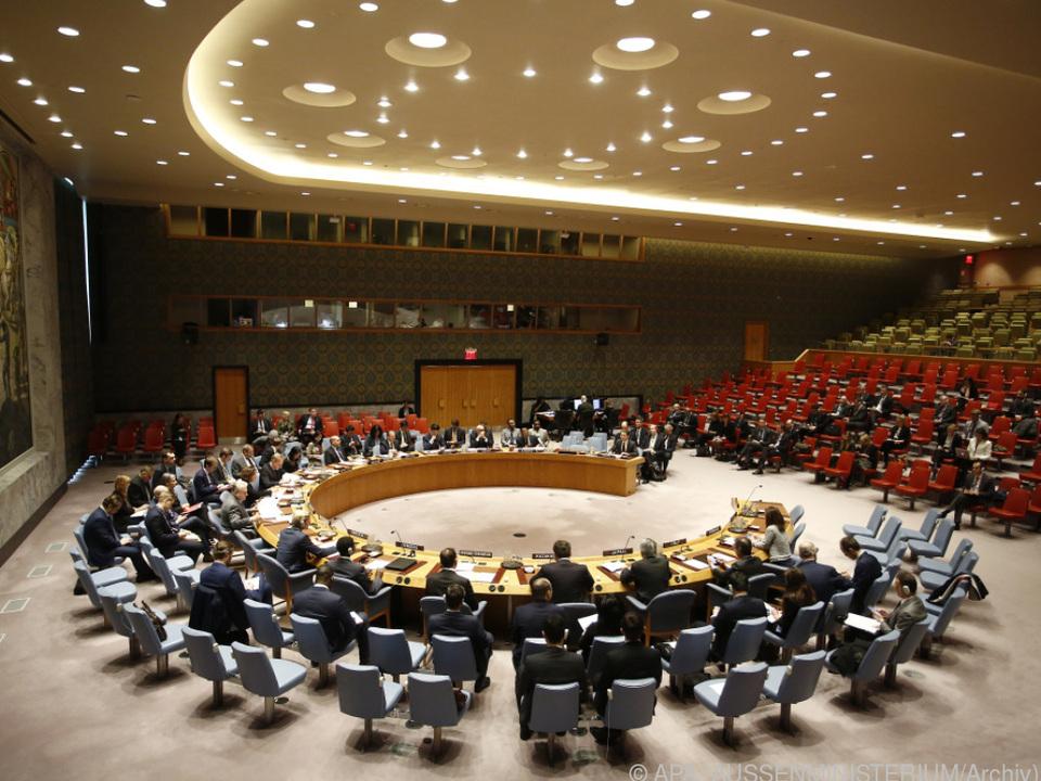 Der UNO-Sicherheitsrat fordert Lösungen für die eskalierende Krise