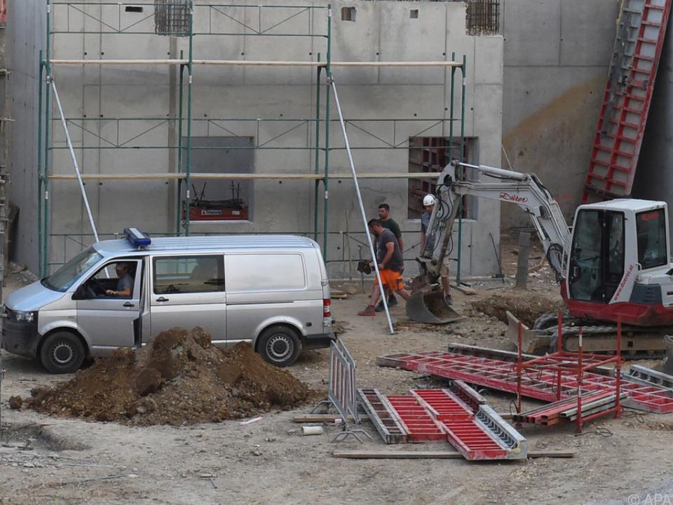 Die Fliegerbombe wurde auf einer Baustelle entdeckt