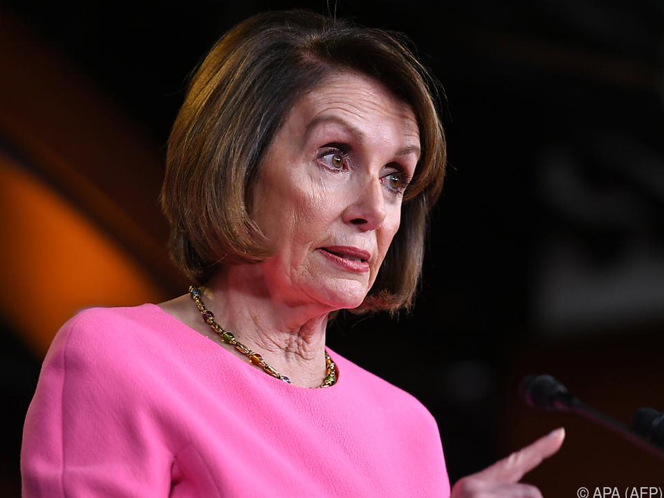 Die US-Oppositionschefin ist weiter gegen ein Amtsenthebungsverfahren