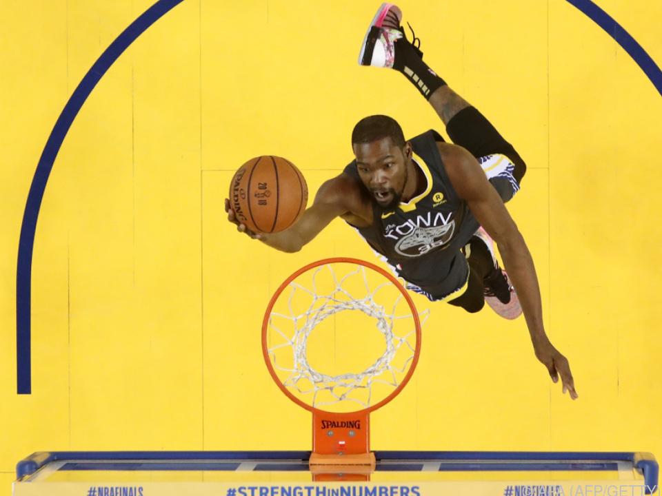 Durants Comeback währte nicht lange