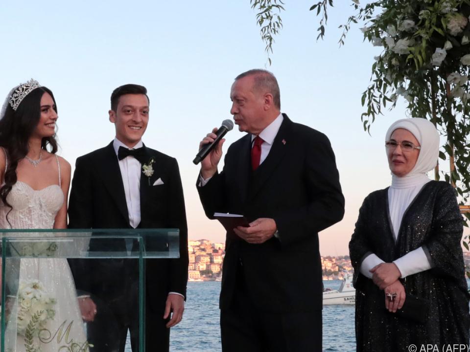 Erdogan spielte bei der Hochzeit eine wichtige Rolle