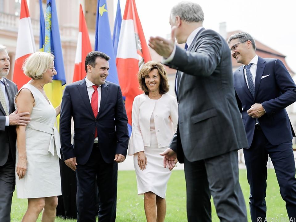 Europäische Spitzenpolitiker trafen auf Stift Göttweig zusammen