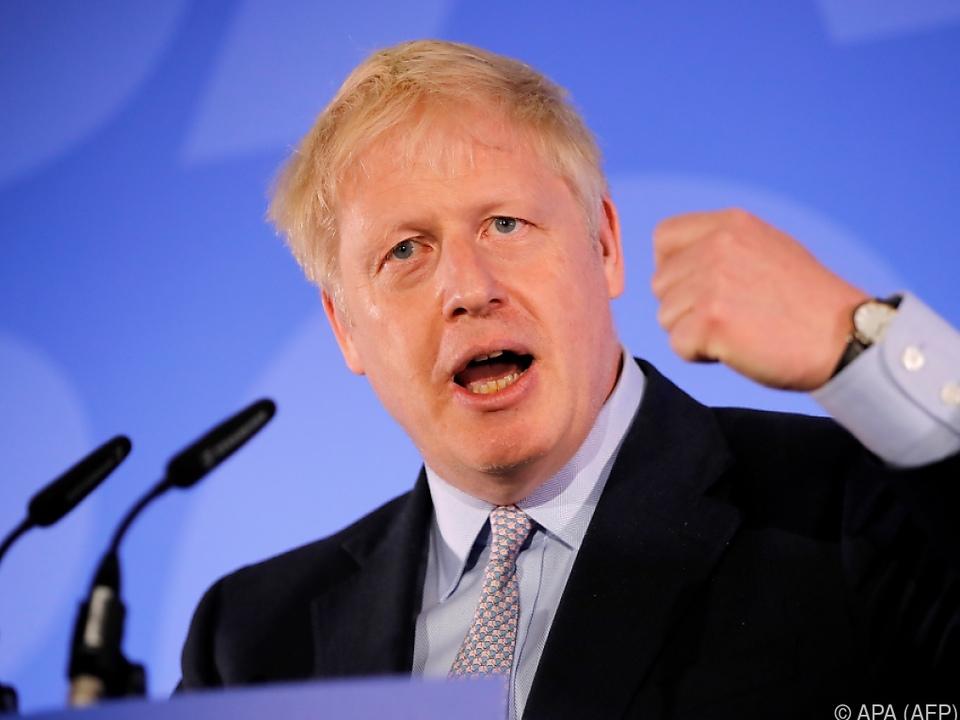 Ex-Außenminister Boris Johnson erhielt 114 Stimmen