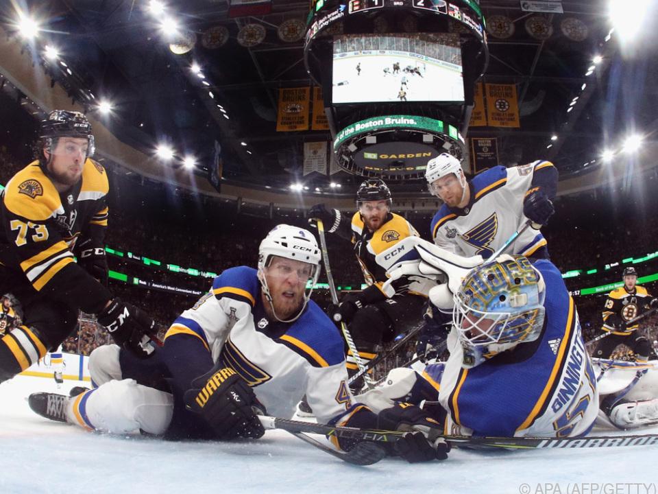 Für die Blues ist der Stanley Cup zum Greifen nahe