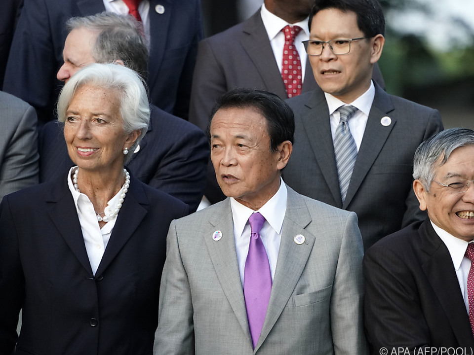 G-20-Finanzminister und -Notenbankchefs in Japan