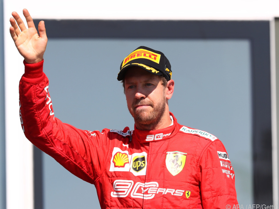 Harte Zeiten für Sebastian Vettel