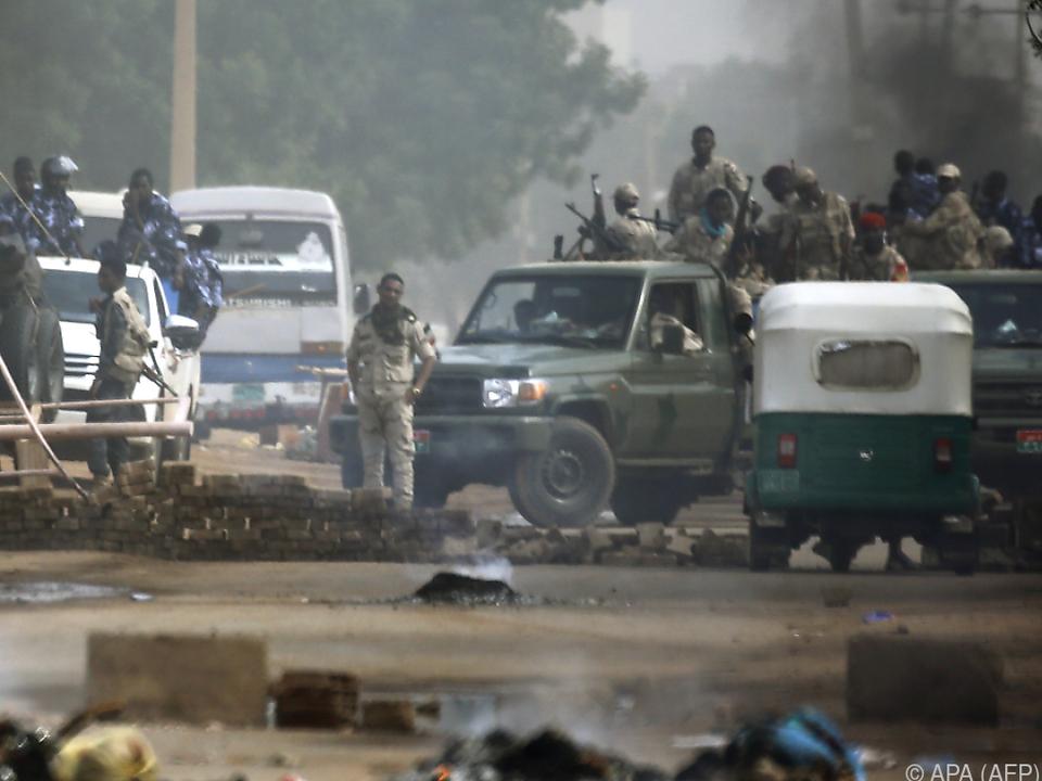 Im Sudan wollen sich die Wogen nicht glätten