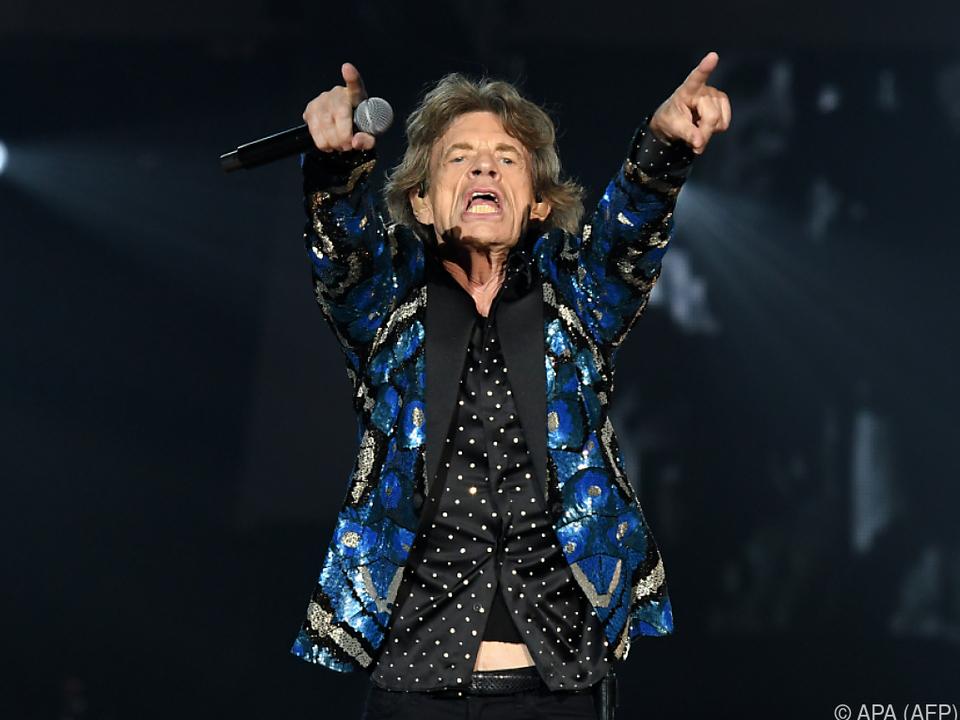 Jagger ist wieder fit