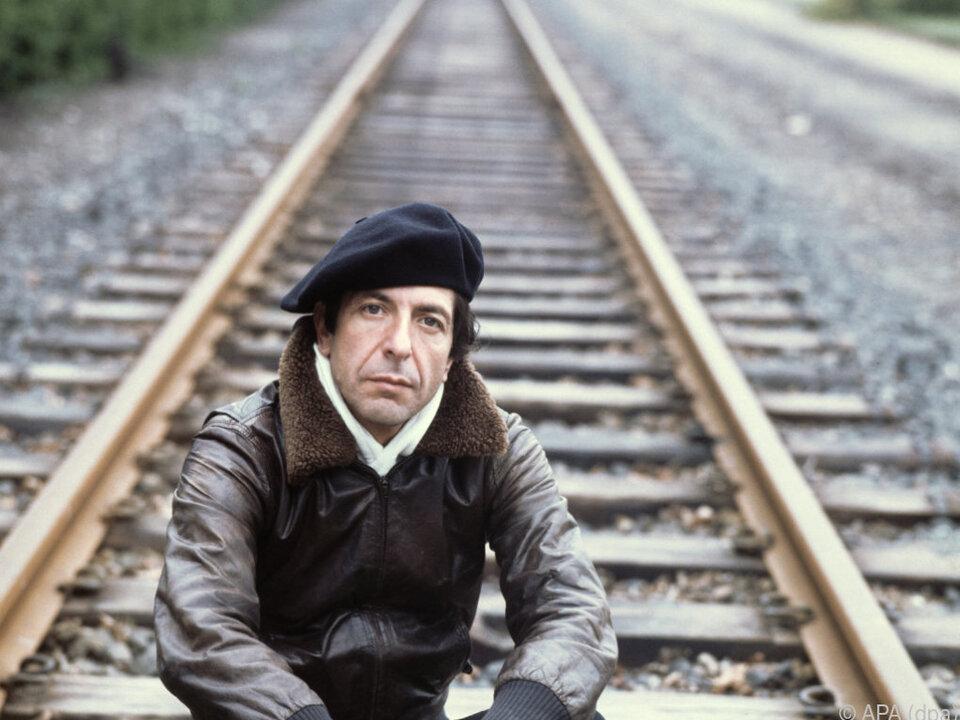 Leonard Cohen verstarb 2016 im Alter von 82 Jahren