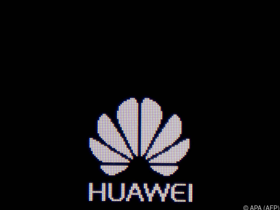 Logo des chinesischen Netzwerkausrüsters Huawei