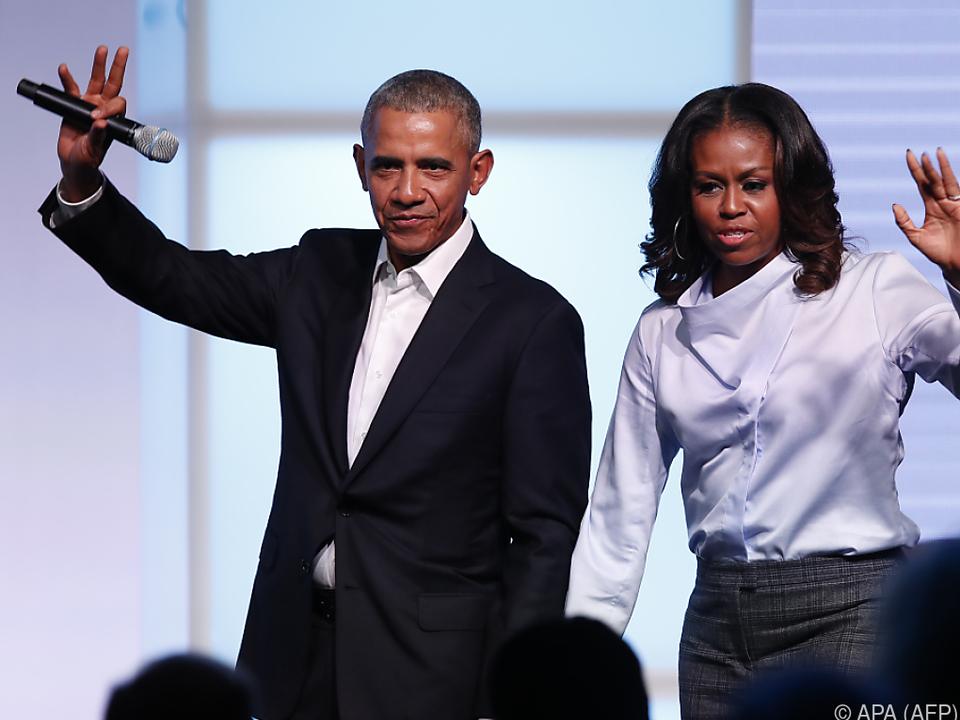 Obamas wollen Menschen zum Lächeln und Nachdenken bringen