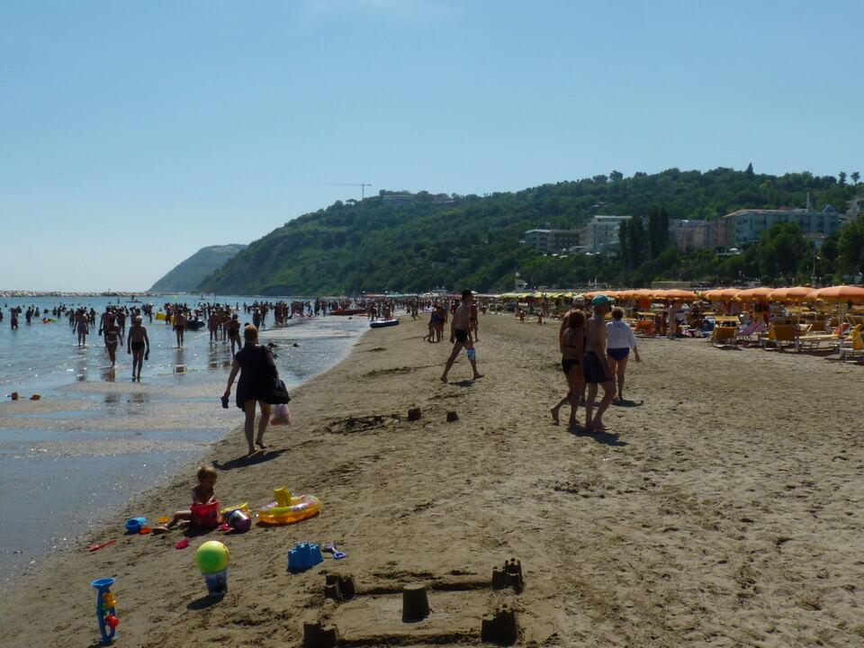 Gabicce, Strand, Adria, Meer