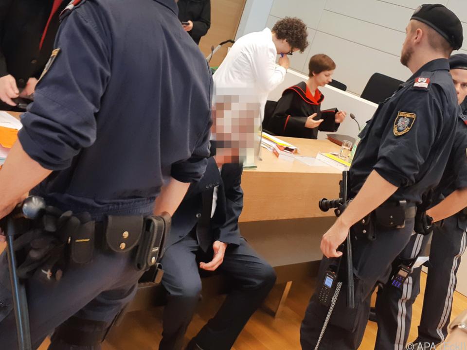 Prozess am Landesgericht Korneuburg