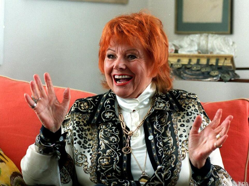 Publikumsliebling Elfriede Ott ist tot