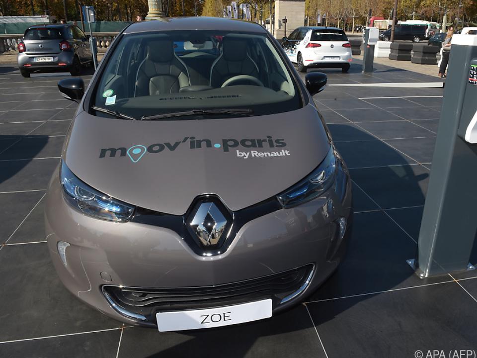 Renault Zoe ist mit 133 Stück Nummer eins bei Elektroautos