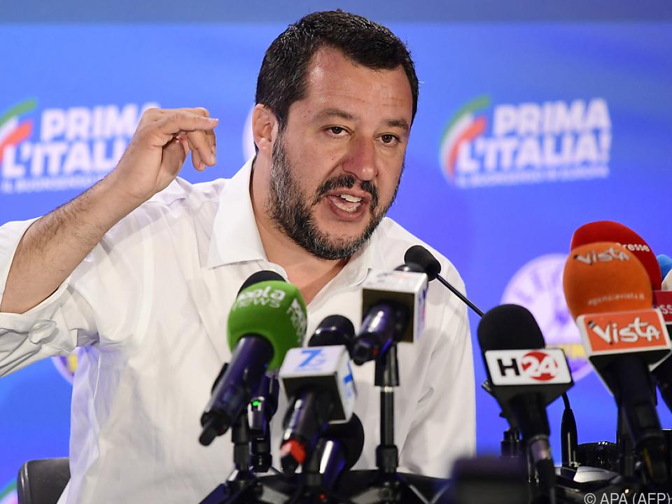 Salvini dementiert \