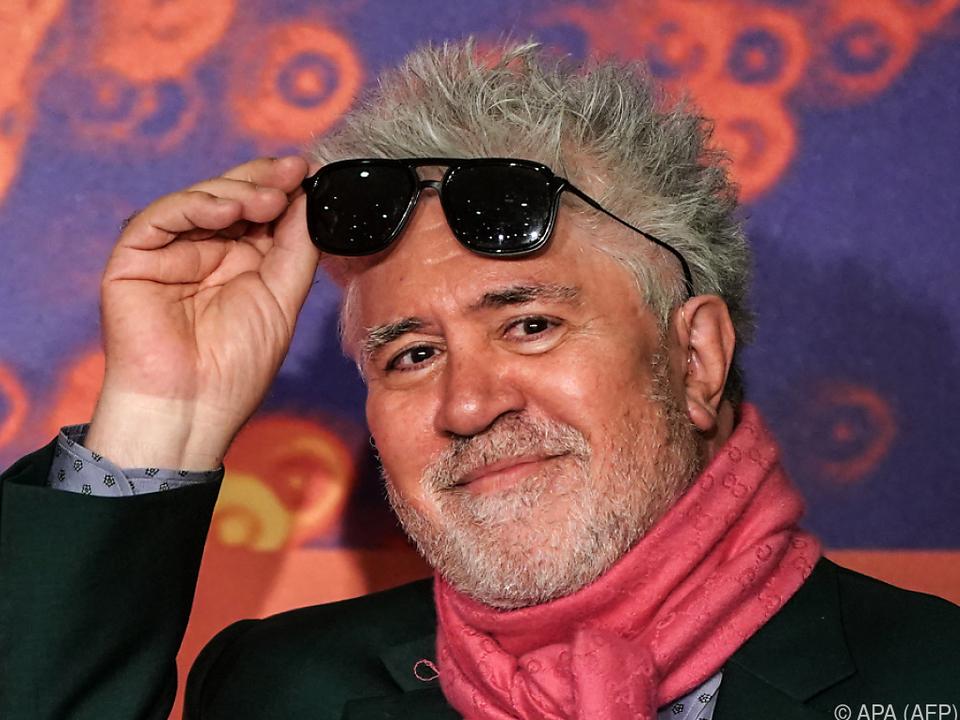 Spanischer Regisseur Pedro Almodovar