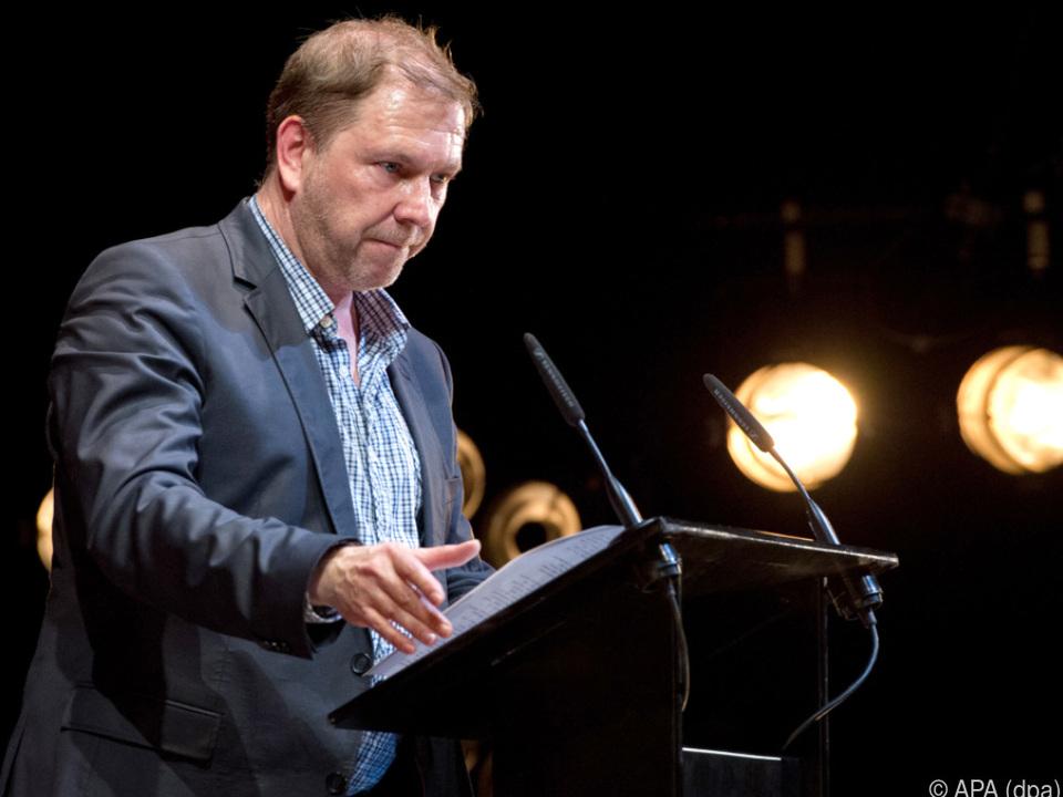 Theaterregisseur und Autor Rene Pollesch
