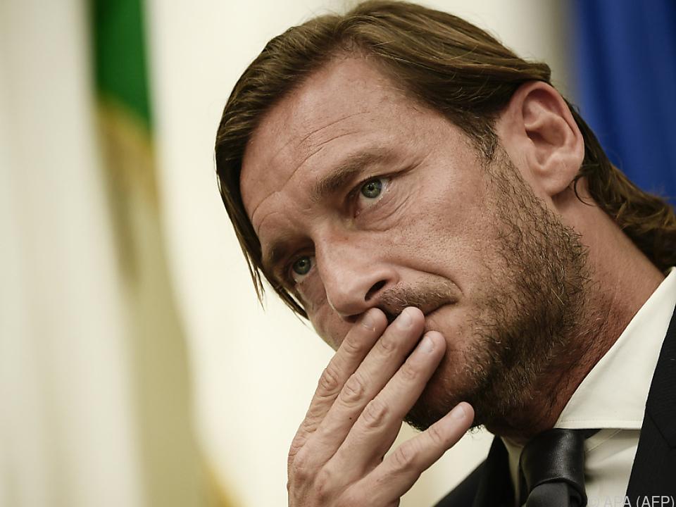 Totti hat sich seine Entscheidung nicht leicht gemacht