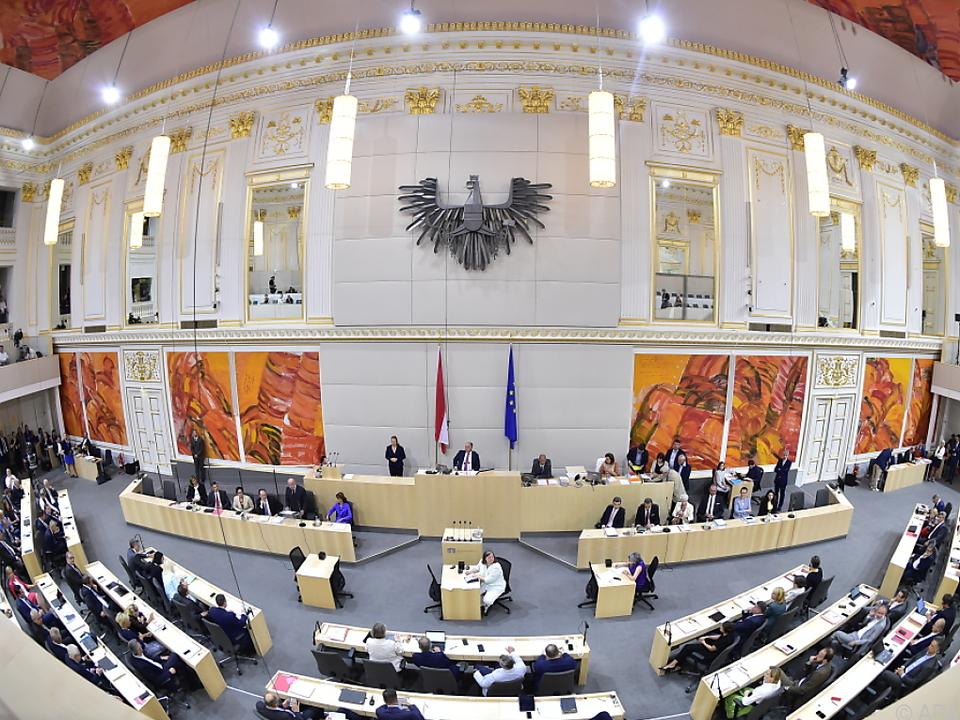 Ungewöhnliche Sitzung des Nationalrats am Mittwoch