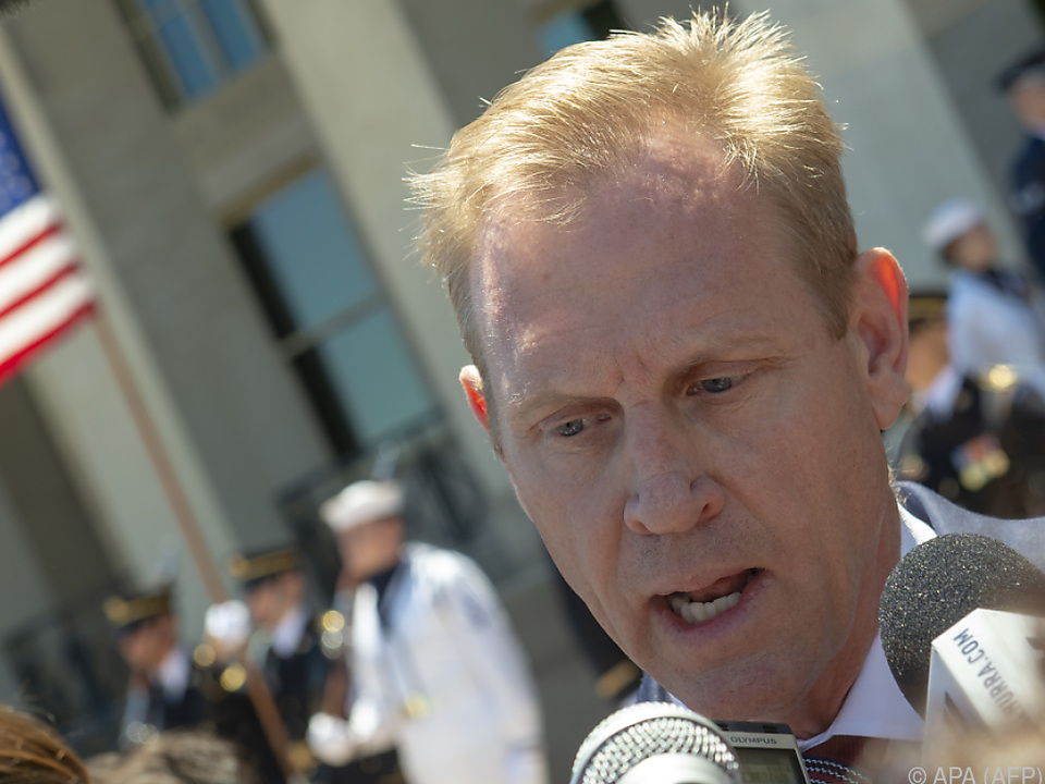 US-Verteidigungsminister Shanahan kündigte Truppenverstärkung an