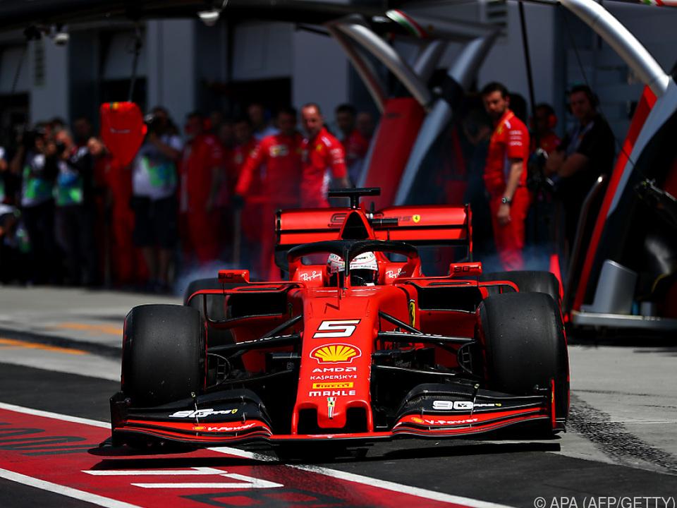 Vettel fuhr Bestzeit