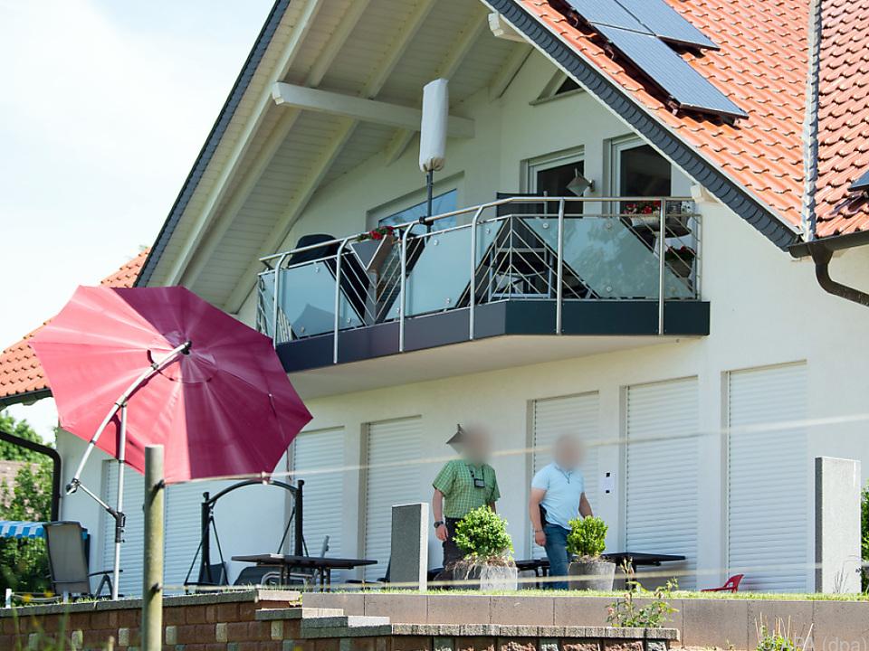 Walter Lübcke wurde auf der Terrasse seines Hauses entdeckt
